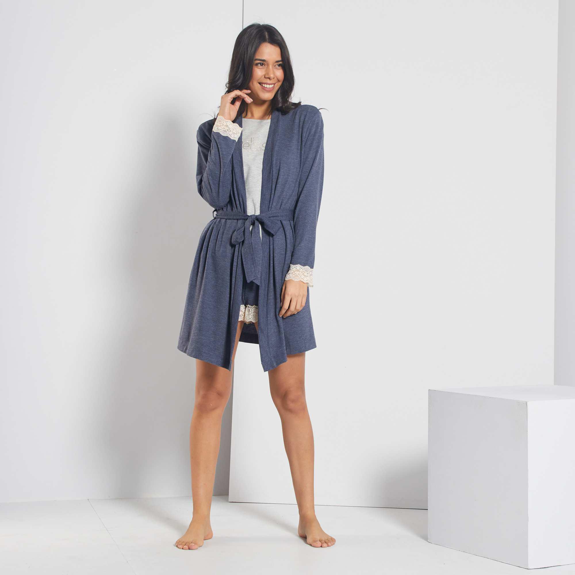 Peignoir ⋆ Pas Cher Femme Lingerie, Vêtements Boutique ⋆ Oyoulive